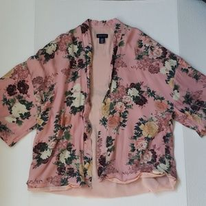 Floral Oversized Coverup